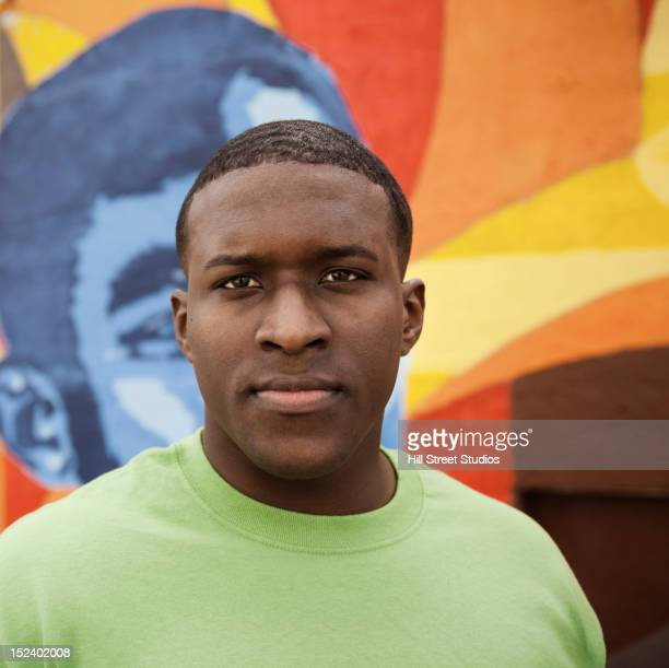 Serious Black man