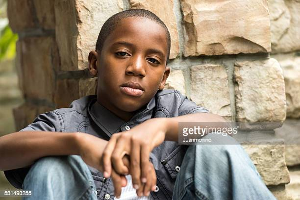 serious eleven years old kid - 14 15 years stock pictures, royalty-free photos & images