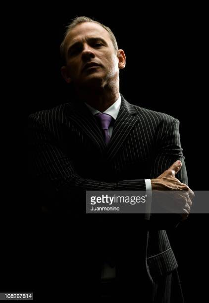 serious executive - gangster stock pictures, royalty-free photos & images