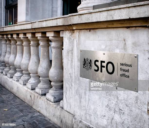 serious fraud office - sign - serious fraud office stock pictures, royalty-free photos & images