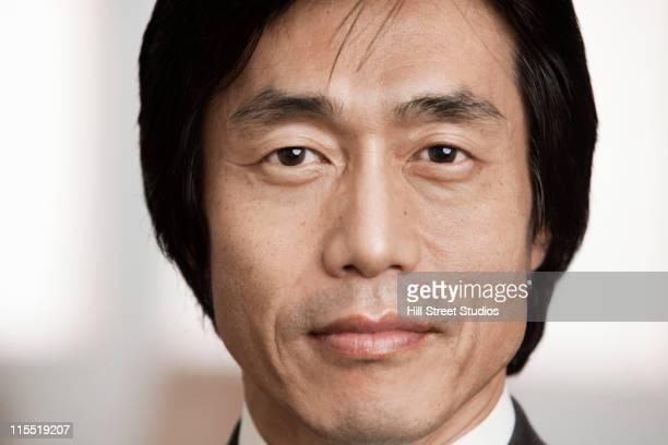 Serio Uomo d'affari giapponese
