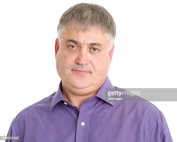 Ernste Mann Portrait