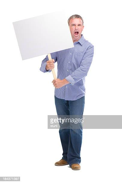 serious protester - protestor stock pictures, royalty-free photos & images