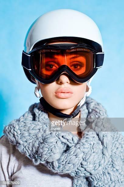 Echte Skifahrer