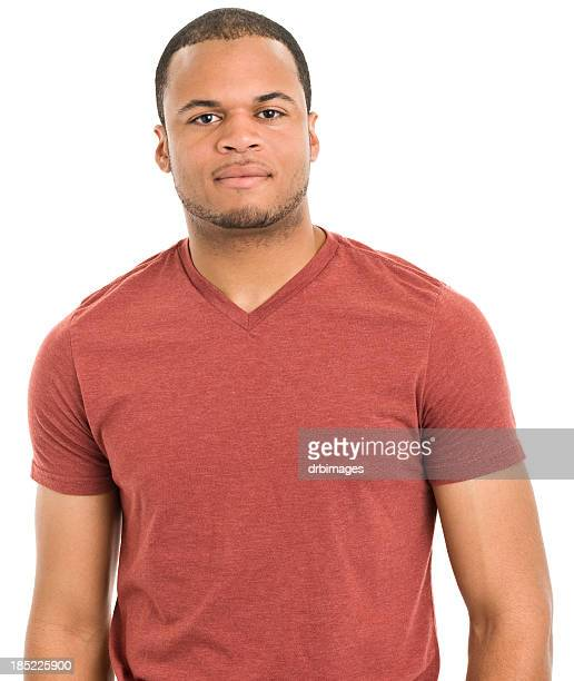 Serious Young Man Portrait