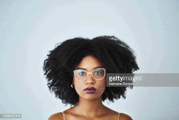 seriously, don't mess with my curls - blank expression stock pictures, royalty-free photos & images