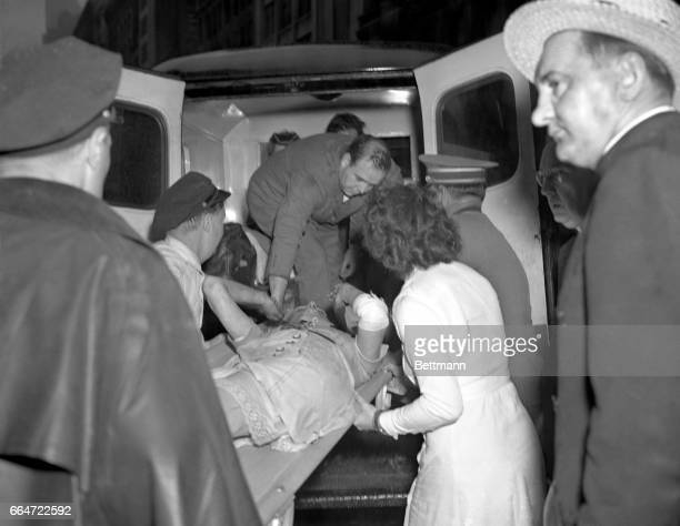 Seriously injured when an explosion and fire followed the crash of a B25 bomber into the 78th floor of the Empire State Building at approximately 10...