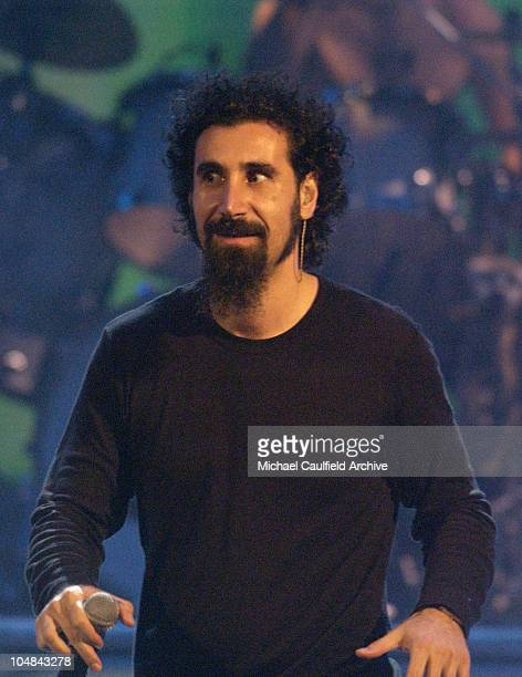 Serj Tankian of System of a Down during MTV Music Video Awards Latinoamerica 2002 Show at Jackie Gleason Theater Miami in Miami Florida United States