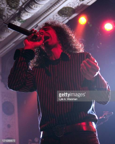Serj Tankian of System of a Down during System of a Down in Concert May 3 2005 at Metro in Chicago Illinois United States
