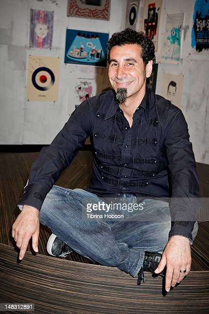 Serj Tankian performs at Warner Bros Records' Summer Sessions on July 13 2012 in Burbank California