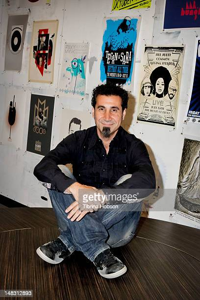 Serj Tankian performs at Warner Bros Records' Summer Sessions on July 13 2012 in Burbank California