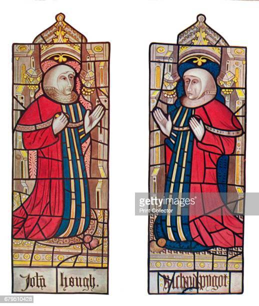 Serjeants at Law ' 1903 Reproduction of a Medieval stained glass window in the Holy Trinity Church Long Melford From Social England Volume II edited...