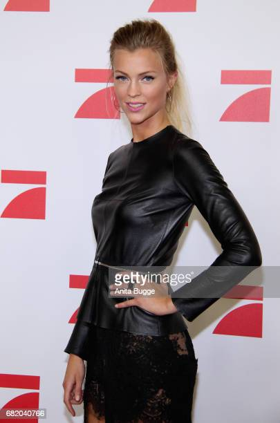 Serlina Hohmann GNTM Top 8 finalist attends the premiere of the television show 'This Is Us Das ist Leben' at Zoo Palast on May 11 2017 in Berlin...