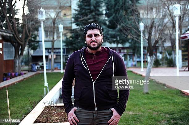 Sermet Al Celani from Rakka city poses after an interview on January 252015 in Gaziantep south east Turkey a city near Syrian border PHOTO/ OZAN KOSE