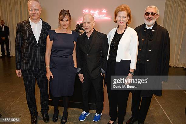 Serpentine Gallery CoDirector HansUlrich Obrist Tracey Emin Adrian Joffe Serpentine Gallery CoDirector Julia PeytonJones and Adrian Joffe attend the...