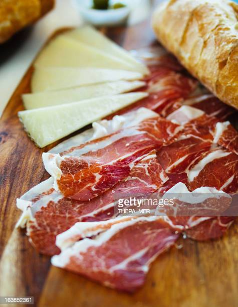 serrano ham - iberian stock photos and pictures