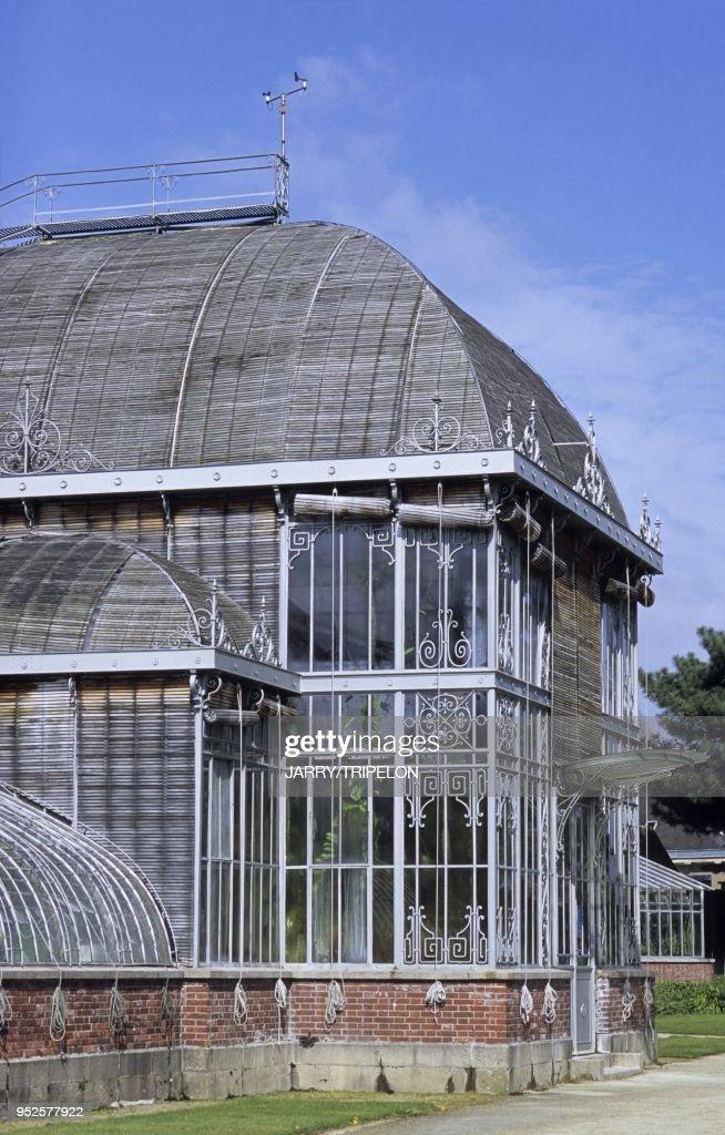 serre, Jardin des Plantes, Nantes, departement Loire-Atlantique ...