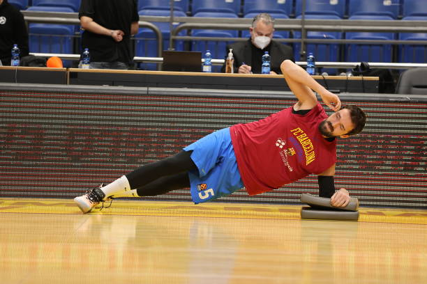 ISR: Maccabi Playtika Tel Aviv v FC Barcelona - Turkish Airlines EuroLeague