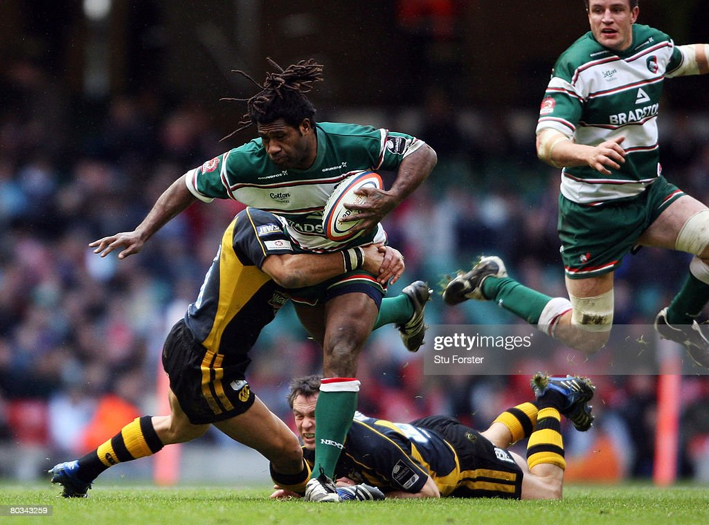 Leicester Tigers v London Wasps - EDF Energy Cup Semi Final : News Photo