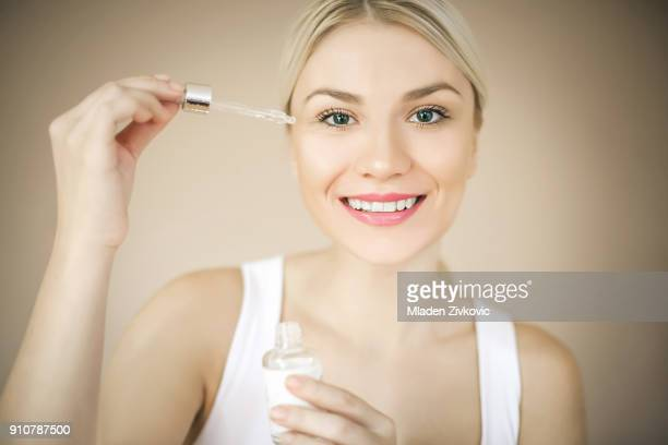 Serum for face.
