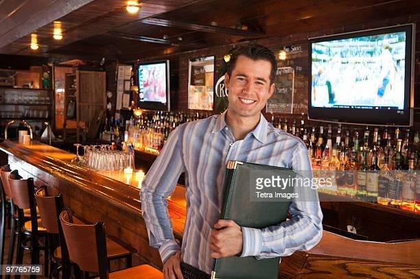 Server in bar