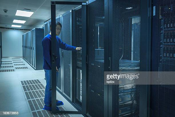 Server Room at Data Center
