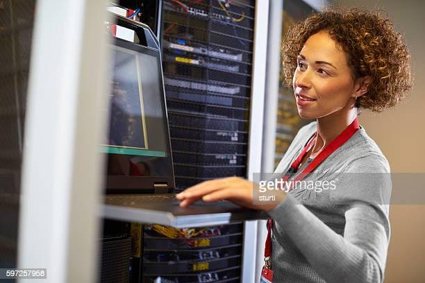 server room IT programmer