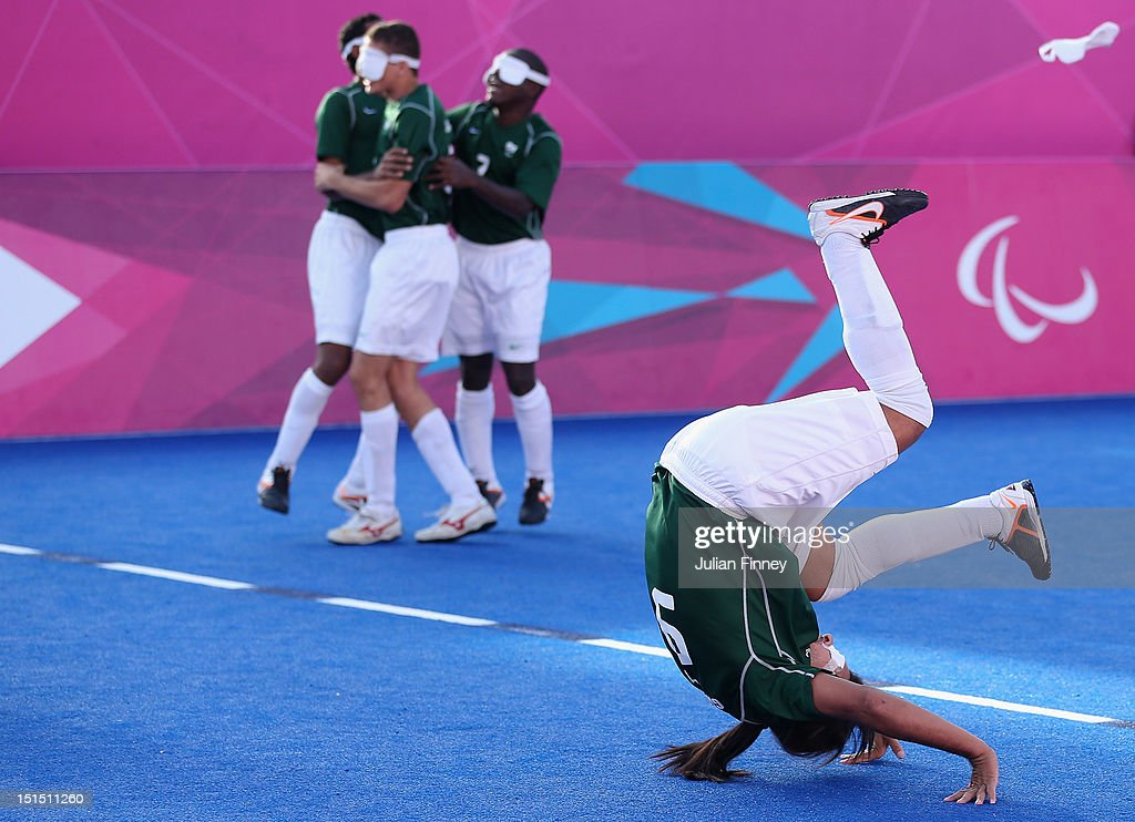 2012 London Paralympics - Day 10 - Football 5-a-side : News Photo