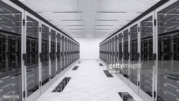 servers in server room - data center stock pictures, royalty-free photos & images