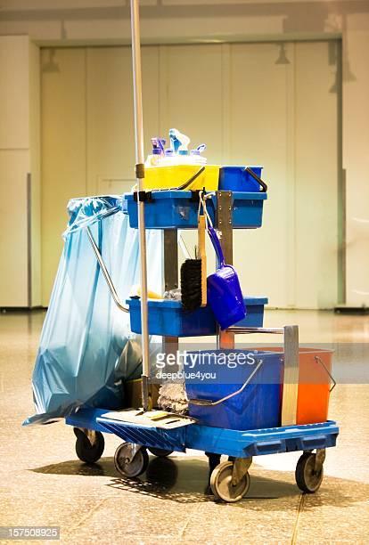 サービスショッピングカートのクリーニング用品、クリーニングキット