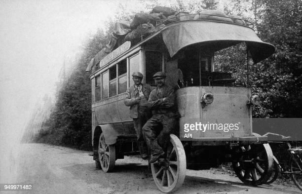 Service des Autobus à Aurillac France