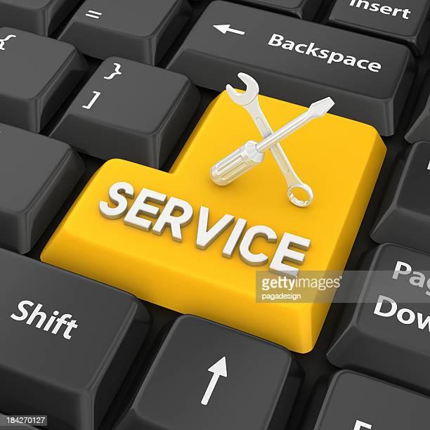 - service Eingabetaste