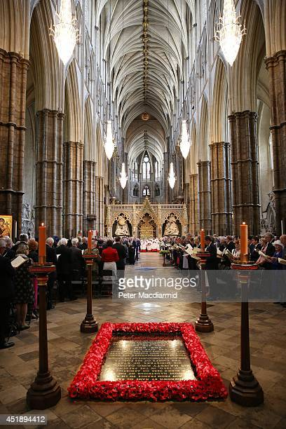 A service of dedication to Admiral Arthur Philip his held at Westminster Abbey on July 9 2014 in London England Arthur Phillip was the...