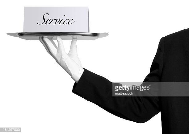 service - white glove stock pictures, royalty-free photos & images