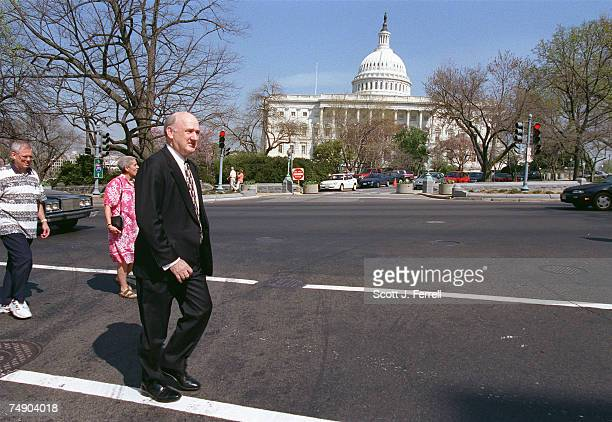 SERVICESKenneth H Rayborn president of First Citizens Bank in Cleveland Tenn on his way to members offices to lobby to retain current financial...