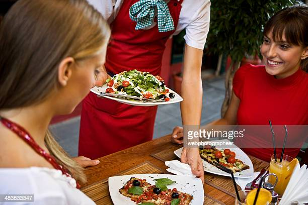 Serving healthy meal  XXL