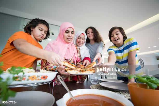 Serving Iftar for Ramadan at home