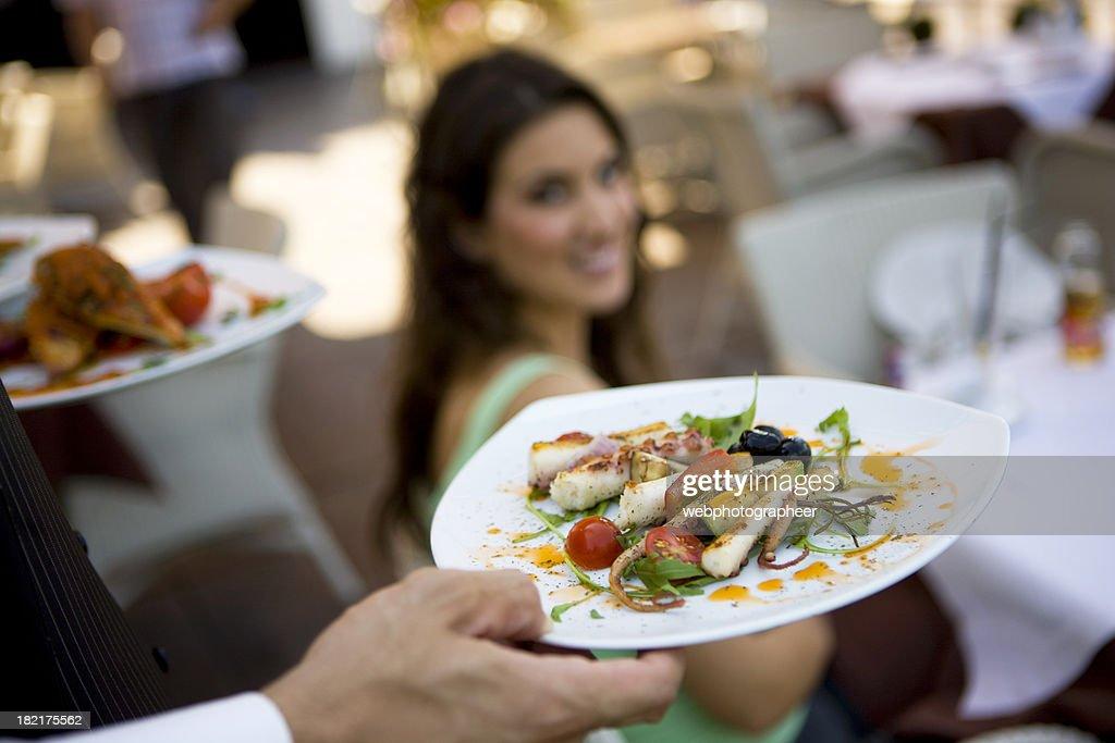 Serving : Stock Photo