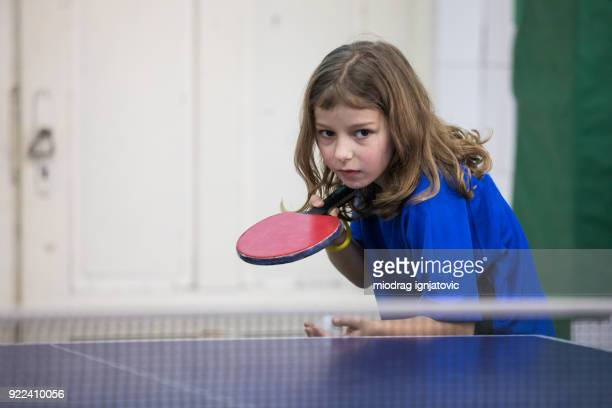 serving the ball - table tennis stock pictures, royalty-free photos & images