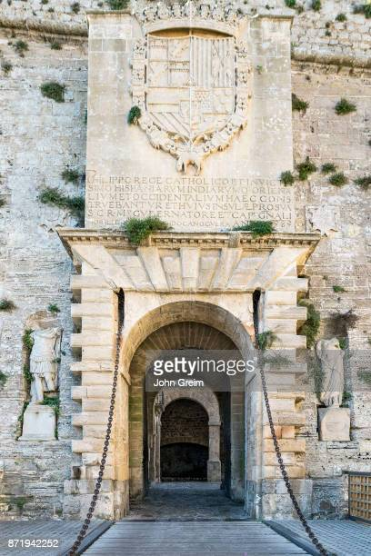 Ses Taules Gate Fortified Ibiza Old Town Dalt Vila