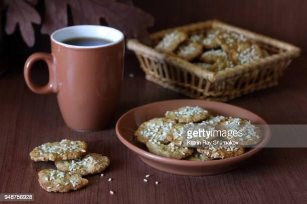 Sesame Oat Crackers - Gluten Free