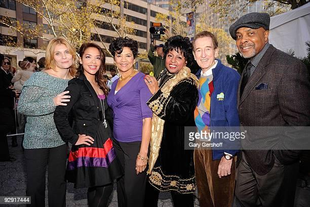"Sesame Street"" cast members Alison Bartlett O'Reilly, Desiree Casado, Sonia Manzano, Loretta Long, Bob McGrath, and Roscoe Orman attend the ""Sesame..."
