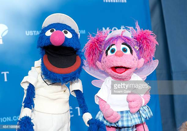 Sesame Street characters Grover and Abby Cadabby attend the 14th Annual USTA Opening Night Gala at USTA Billie Jean King National Tennis Center on...