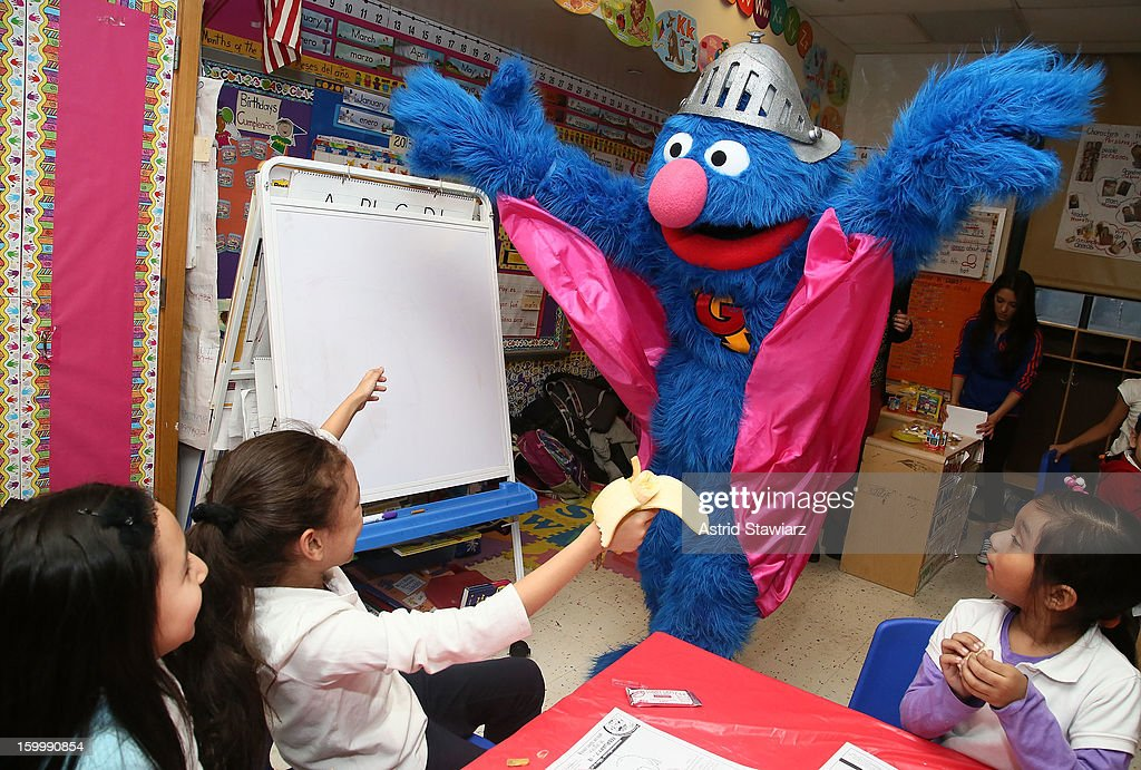 Super Grover Teaches Kids To Be A Super Heroes