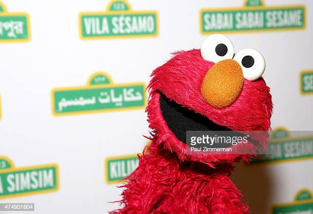 Sesame Street Muppet 'Elmo' attends the Sesame Workshop's 13th Annual Benefit Gala at Cipriani 42nd Street on May 27 2015 in New York City