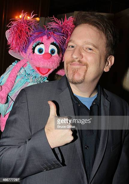 Sesame Street's 'Abby Cadabby' and Dan Finnerty attend The Drama League's 30th Annual Musical celebration of Broadway honoring Neil Patrick Harris at...