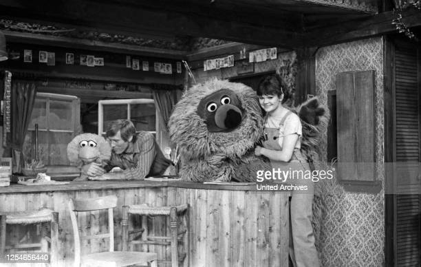 Sesamstraße, Kindersendung, Deutschland 1979, Mitwirkende: Tiffy, Horst Janson, Samson, Ilse Biberti.