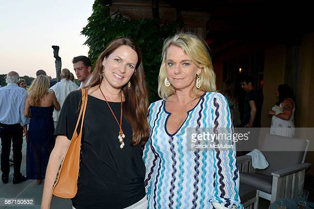 Sessa von Richthofen Johnson and Debbie Bancroft attend Tom Diane Tuft and Christina Cuomo Celebrate the Launch of Jay McInerney's New Novel Bright...
