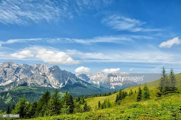 Sesto Dolomites, from Col Quaternà, Val Comelico