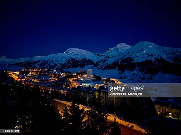 Sestriere - home of 2006 Winter Olympic ski events